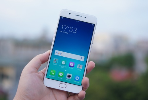 Mo hop Oppo F1s: Smartphone chuyen selfie, dang ua nhin hinh anh 7