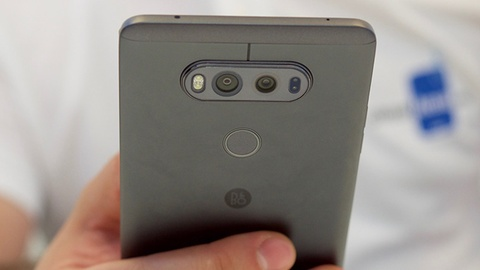 LG V20 ra mat voi thiet ke moi, camera kep hinh anh
