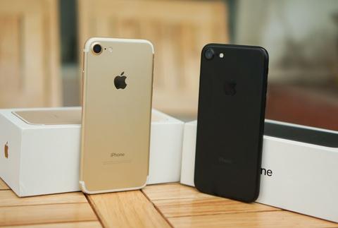iphone 7 mau vang hong hinh anh