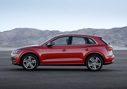 Audi Q5 2017 dang the thao hon, gia tu 50.000 USD hinh anh 2