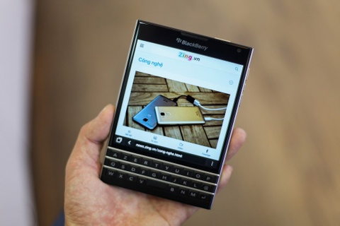 blackberry passport silver edition hinh anh