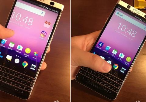 BlackBerry Mercury dung ban phim QWERTY lo anh thuc te hinh anh