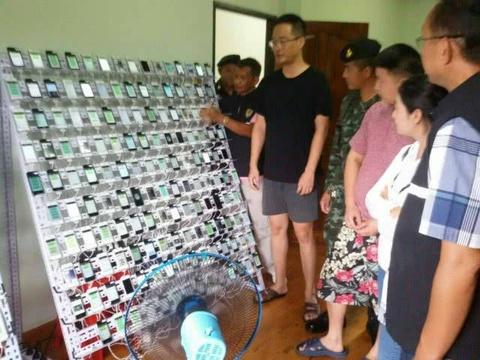 Clickfarm voi 400 iPhone, 300.000 SIM bi pha tai Thai Lan hinh anh