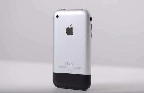 So sanh iPhone X va iPhone 2G hinh anh
