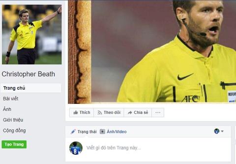 Dan mang dua nhau lap Facebook gia mao trong tai tran U23 VN - Iraq hinh anh