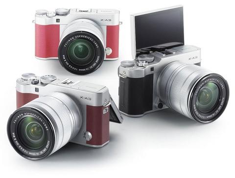 Gioi thieu Fujifilm X-A5 hinh anh