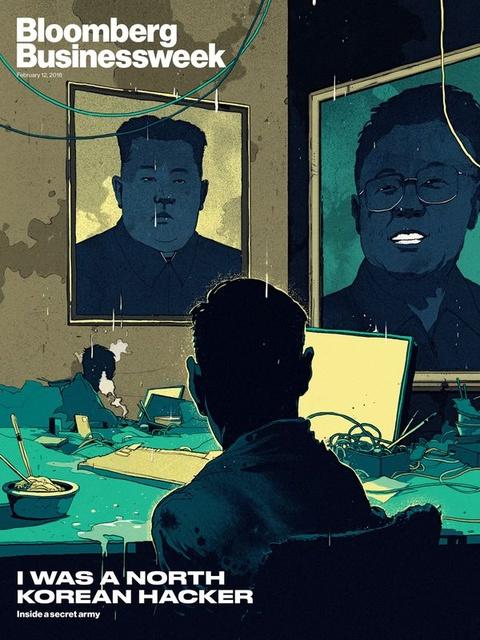 Cuoc song khong chon dung than cua hacker Trieu Tien hinh anh 2