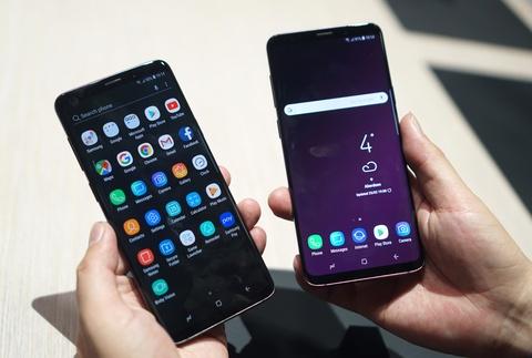 Anh chi tiet Galaxy S9+: Manh me hon, camera nhieu tinh nang hinh anh 2