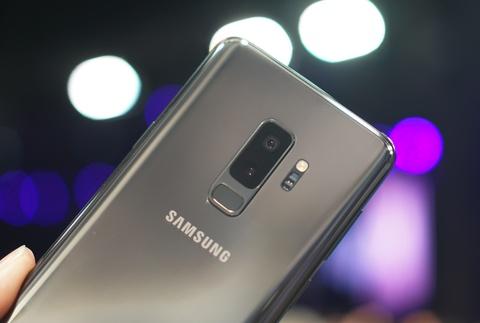 Anh chi tiet Galaxy S9+: Manh me hon, camera nhieu tinh nang hinh anh 6