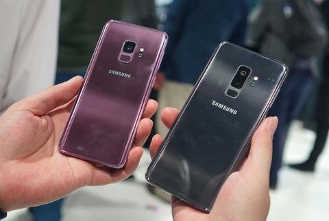 Anh chi tiet Galaxy S9+: Manh me hon, camera nhieu tinh nang hinh anh 1