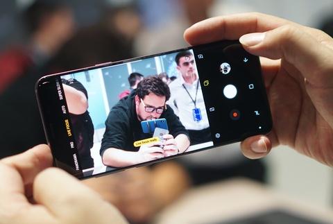 Anh chi tiet Galaxy S9+: Manh me hon, camera nhieu tinh nang hinh anh 8