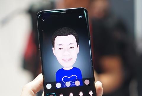 Anh chi tiet Galaxy S9+: Manh me hon, camera nhieu tinh nang hinh anh 9