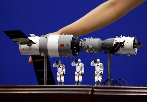 Tiangong-1 se roi xuong trong vai ngay toi hinh anh