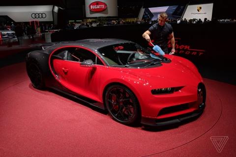 Ven man sieu xe Bugatti Chiron Sport hinh anh
