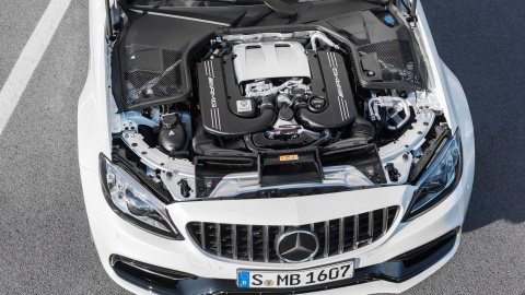Mercedes-AMG C63 2019 so huu hang loat nang cap hinh anh 11