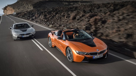 Can canh BMW i8 Roadster hinh anh
