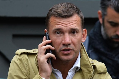 Shevchenko lam HLV truong Ukraine hinh anh