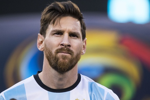 messi chia tay tuyen argentina hinh anh