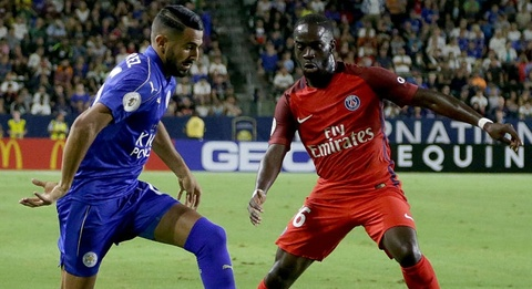 highlights psg vs leicester hinh anh