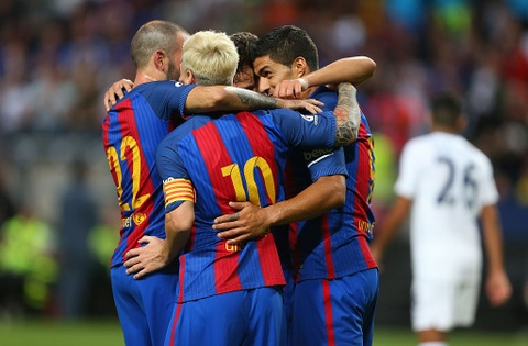 barcelona vs leicester hinh anh