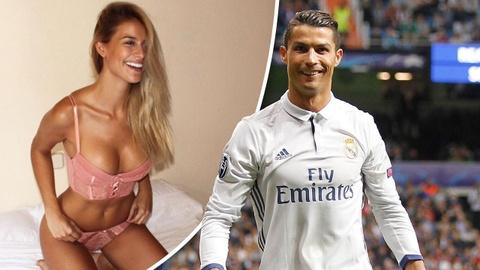 Bi mat chuyen tinh cua Ronaldo va Hoa hau hoan vu Cordero hinh anh