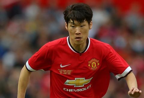 Park Ji-Sung tai xuat trong mau ao doi bong dai hoc hinh anh