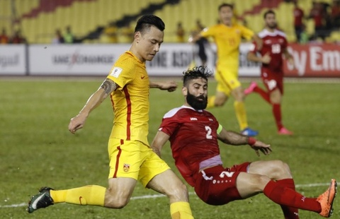 trung quoc vs syria hinh anh