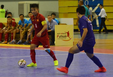 Con giau bai, DT futsal Viet Nam van huy diet Philippines 24-0 hinh anh 1