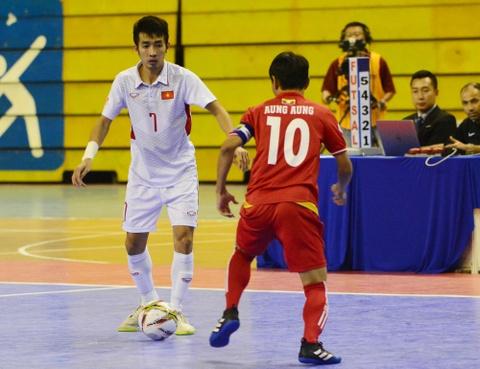 Cho chung ket trong mo giua futsal Viet Nam va Thai Lan hinh anh 6