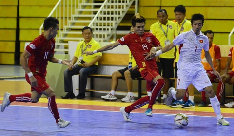 Cho chung ket trong mo giua futsal Viet Nam va Thai Lan hinh anh 4