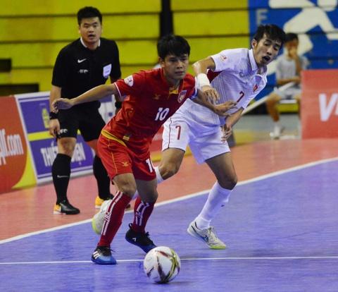 Cho chung ket trong mo giua futsal Viet Nam va Thai Lan hinh anh 10