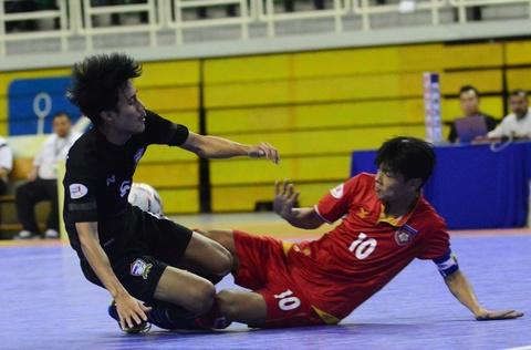 Nhan chim Myanmar, futsal Thai Lan cham tay vao ngoi vo dich hinh anh 9