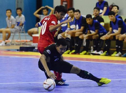 Nhan chim Myanmar, futsal Thai Lan cham tay vao ngoi vo dich hinh anh 11