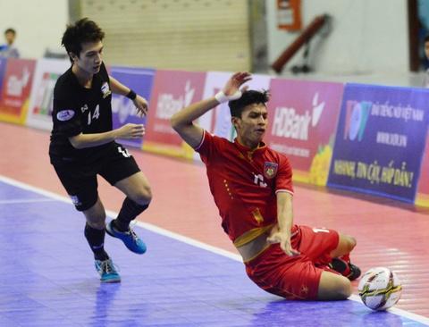 Nhan chim Myanmar, futsal Thai Lan cham tay vao ngoi vo dich hinh anh 13