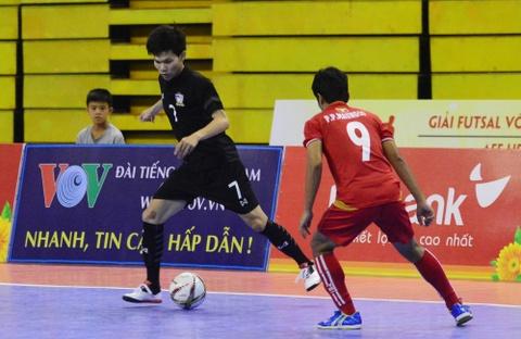 Nhan chim Myanmar, futsal Thai Lan cham tay vao ngoi vo dich hinh anh 1
