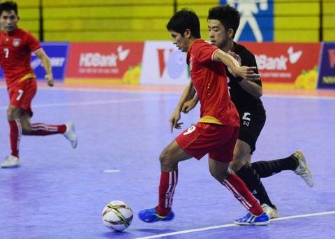 Nhan chim Myanmar, futsal Thai Lan cham tay vao ngoi vo dich hinh anh 2