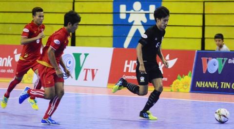 Nhan chim Myanmar, futsal Thai Lan cham tay vao ngoi vo dich hinh anh 4