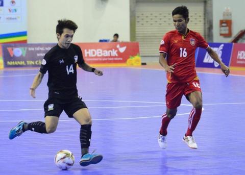 Nhan chim Myanmar, futsal Thai Lan cham tay vao ngoi vo dich hinh anh 3