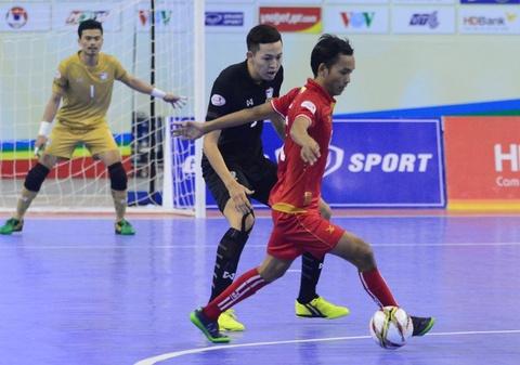 Nhan chim Myanmar, futsal Thai Lan cham tay vao ngoi vo dich hinh anh 6