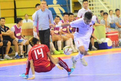 Myanmar gieo them sau cho futsal Viet Nam ngay tren san nha hinh anh 8
