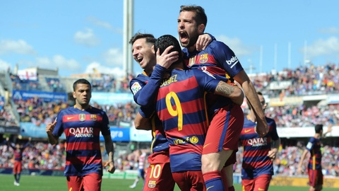 'Cuoi tuan nay, Barca se vo dich La Liga' hinh anh