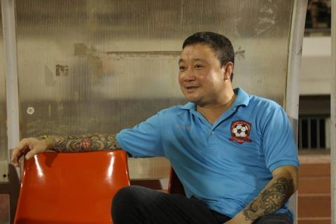 Hai Phong tham bai trong ngay chia tay HLV Truong Viet Hoang hinh anh