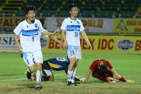 Cau thu U19 Viet Nam thua toan dien truoc dai dien Nhat Ban hinh anh