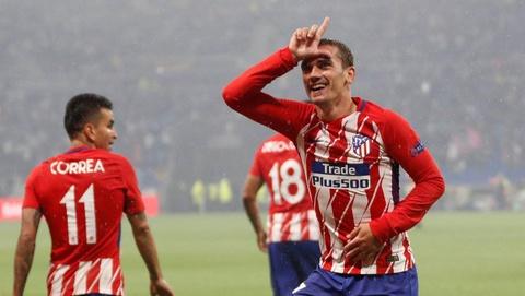 'Hoang tu be' Griezmann da lon va Atletico cung nho dan hinh anh