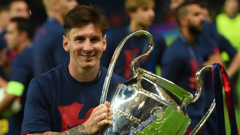 Barca truoc 'am anh' Champions League: Dung de Messi co don hinh anh