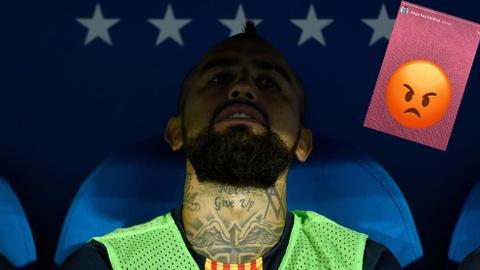 Arturo Vidal: Tra gia vi tin loi hua hao cua Barca hinh anh