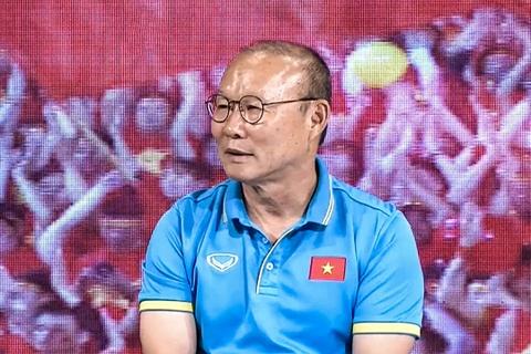 HLV Park Hang-seo len tieng ve tuong lai o tuyen Viet Nam hinh anh