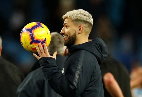 Neu Man City vo dich, hay dung tuong Sergio Aguero hinh anh