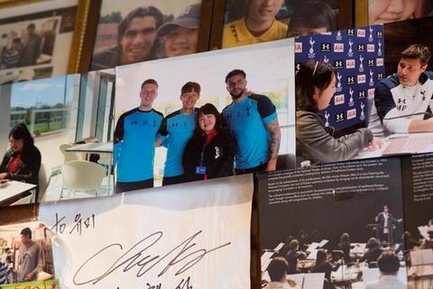 Khi Park Ji-sung cung chao thua Son Heung-min hinh anh 4