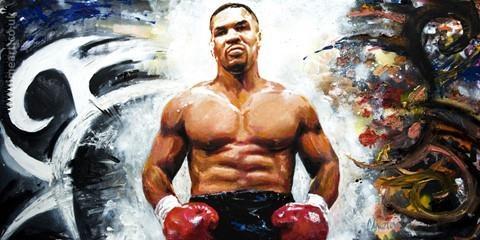 Huyen thoai Mike Tyson dung manh o tuoi 53 hinh anh